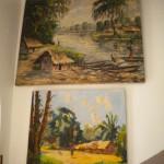 "Peintures Africaines ""scènes de vie"""